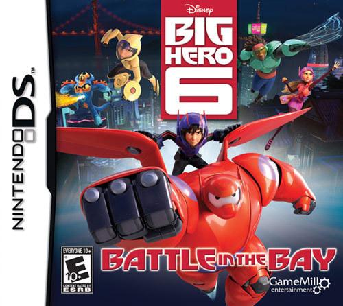 Big Hero 6: Battle in the Bay - Nintendo DS 9505212
