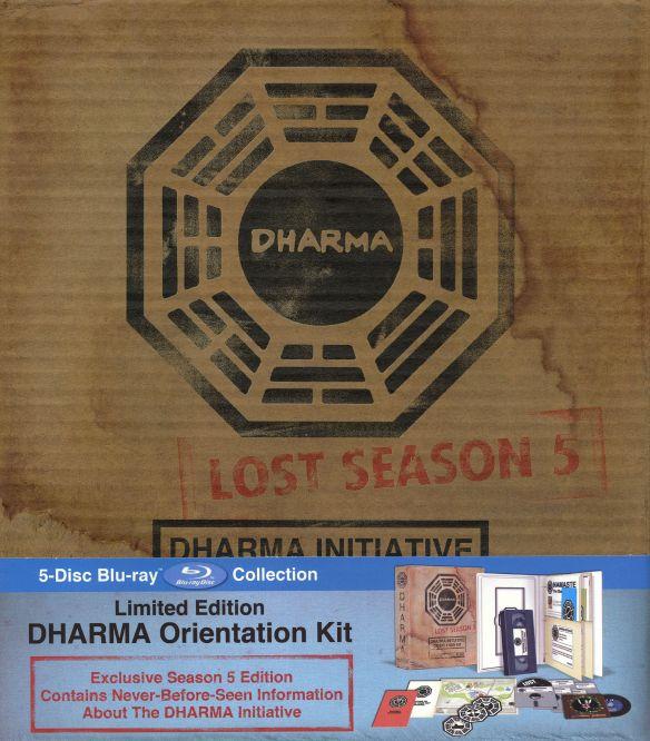 Lost: Season 5 - Dharma Initiative Orientation Kit [Limited Edition] [5 Discs] [Blu-ray] 9506108