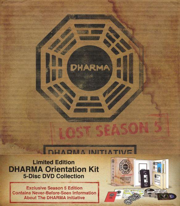 Lost: Season 5 - Dharma Initiative Orientation Kit [Limited Edition] [5 Discs] [DVD] 9506144