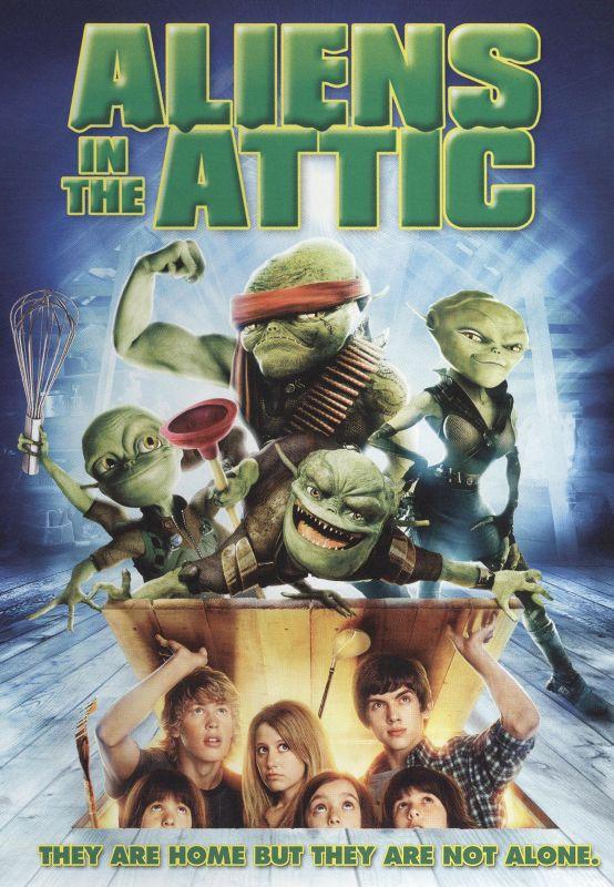 Aliens in the Attic [DVD] [2009] 9507517