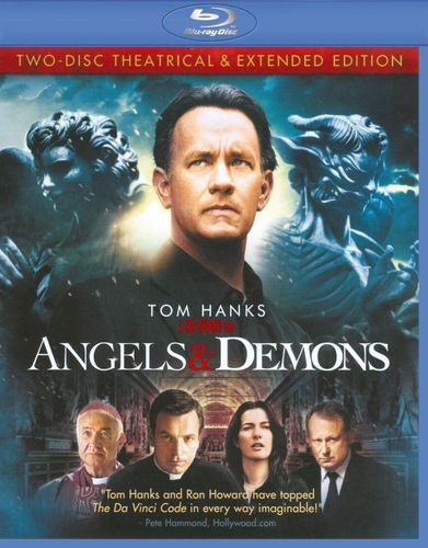 Angels & Demons [2 Discs] [Blu-ray] [Theatrical & Extended Editions] [2009] 9517249