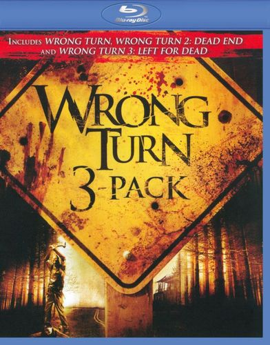 Wrong Turn [3 Discs] [Blu-ray] 9525873