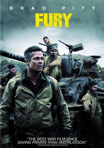 Fury [Includes Digital Copy] [UltraViolet] [DVD] [2014] 9529105
