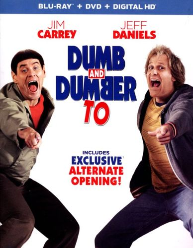 Dumb and Dumber To [2 Discs] [Includes Digital Copy] [Ultraviolet] [Blu-ray/DVD] [2014] 9559219