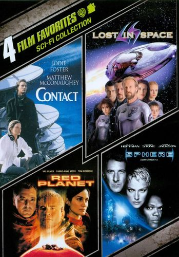 Sci-Fi Collection: 4 Film Favorites [4 Discs] [DVD] 9564012