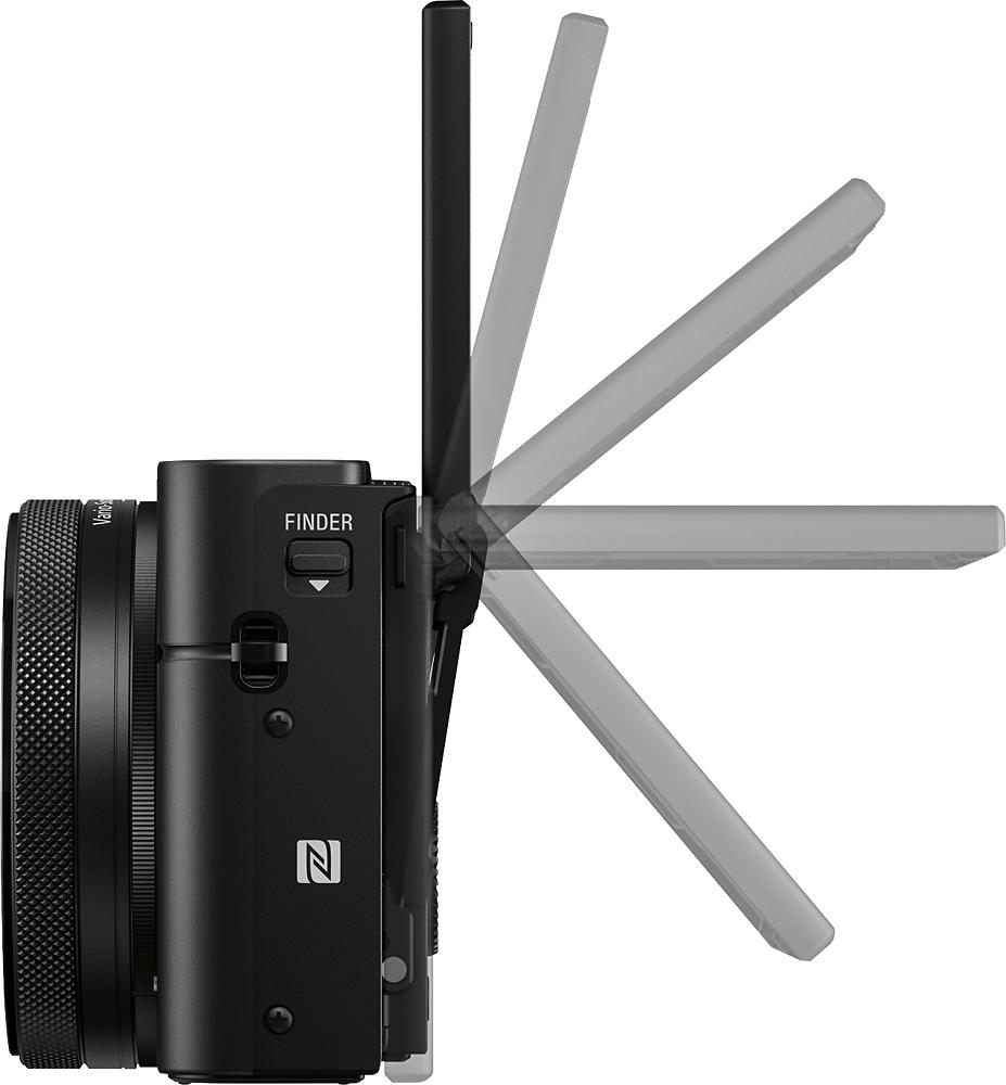 Sony DSCRX100M4/B Cyber-shot IV 20.1-Megapixel Digital Camera Black