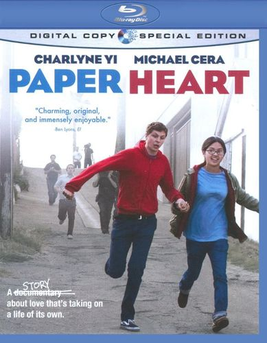 Paper Heart [2 Discs] [Special Edition] [Includes Digital Copy] [Blu-ray] [2009] 9589796