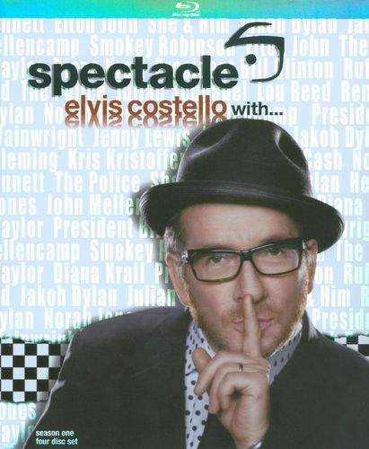 Spectacle: Elvis Costello With. - Season One [4 Discs] [Blu-ray] 9596243