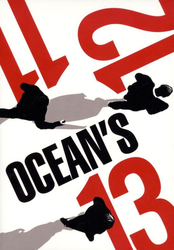 Ocean's Eleven/Ocean's Twelve/Ocean's Thirteen [3 Discs] [DVD] 9605329