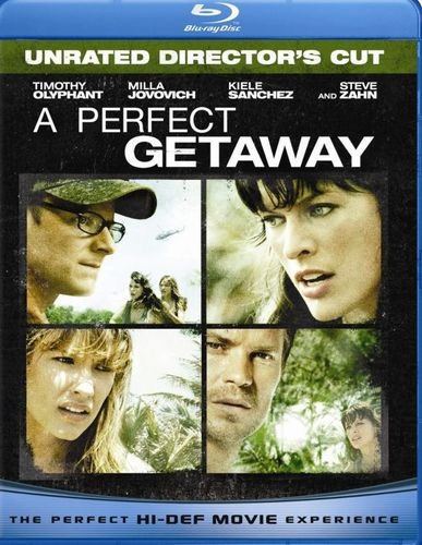 A Perfect Getaway [Unrated/Rated Versions] [Blu-ray] [2009] 9616798