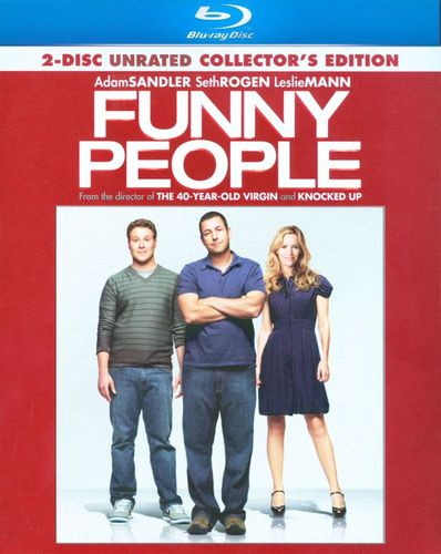 Funny People [Rated/Unrated Versions] [Special Edition] [2 Discs] [Blu-ray] [2009] 9616925