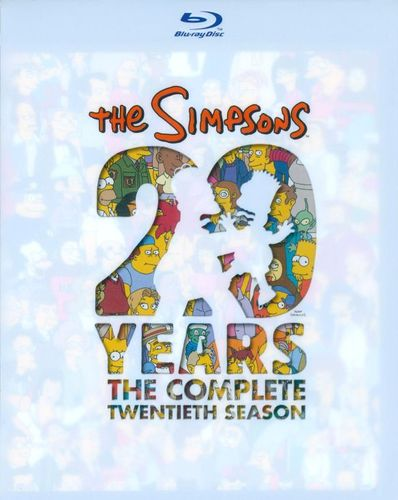 The Simpsons: The Complete Twentieth Season [4 Discs] [Blu-ray] 9633428