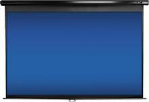 "Elite Screens Manual Series 92"" Pull-Down Projector Screen Black M92UWH"
