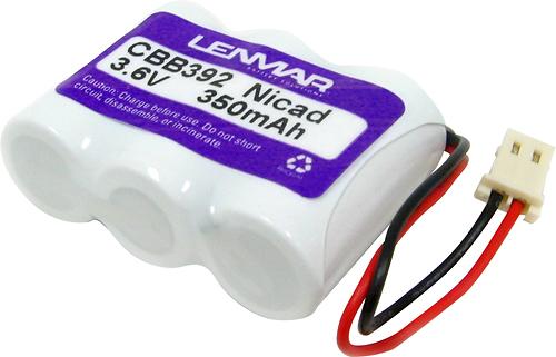 Lenmar - Nickel Cadmium Battery for Select Cordless Phones