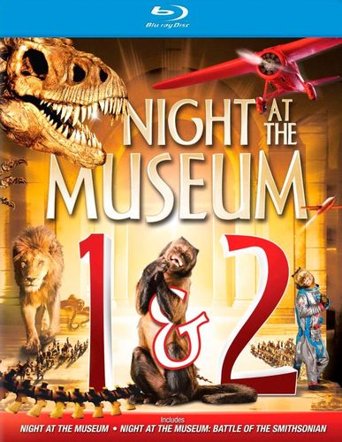 Night at the Museum/Night at the Museum: Battle of the Smithsonian [2 Discs] [Blu-ray] 9641103