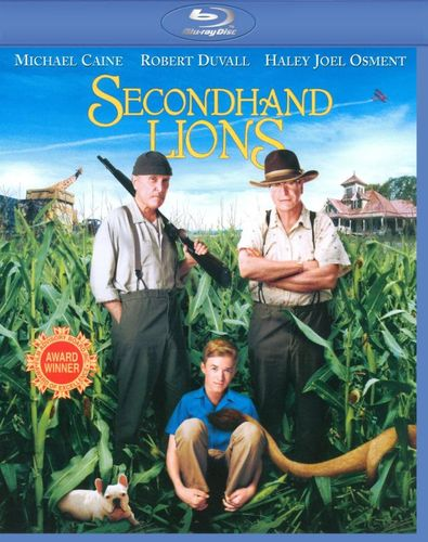 Secondhand Lions [Blu-ray] [2003] 9641339
