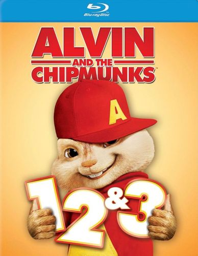 Alvin and the Chipmunks 1, 2 & 3 [3 Discs] [Blu-ray] 9646117