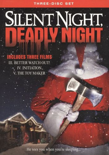 Silent Night, Deadly Night [3 Discs] [DVD] 9651169