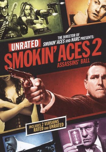 Smokin' Aces 2: Assassins' Ball [Rated/Unrated] [DVD] [2010] 9657858