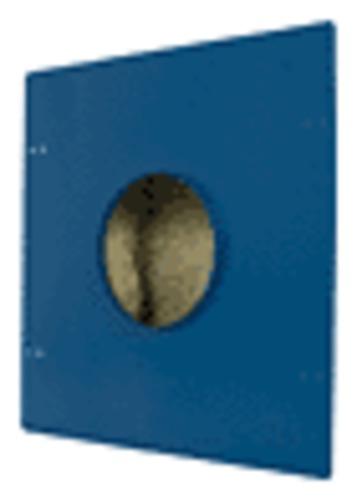 SpeakerCraft - Speaker Enclosure - Dark Blue