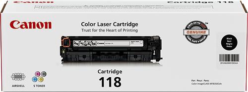 Canon - 118 Toner Cartridge - Black