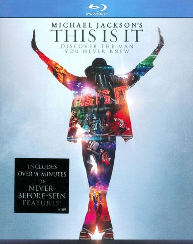 Michael Jackson's This Is It [Blu-ray] [2009] 9673155