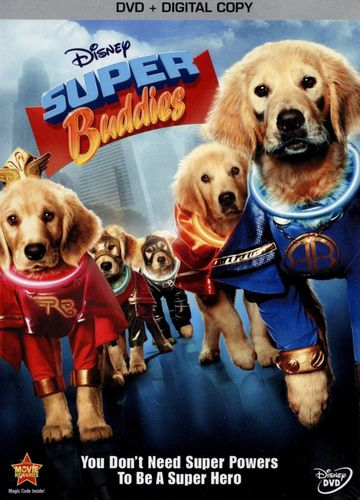 Super Buddies [2 Discs] [Includes Digital Copy] [DVD] [2013] 9681448