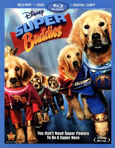 Super Buddies [2 Discs] [Blu-ray/DVD] [2013] 9681493