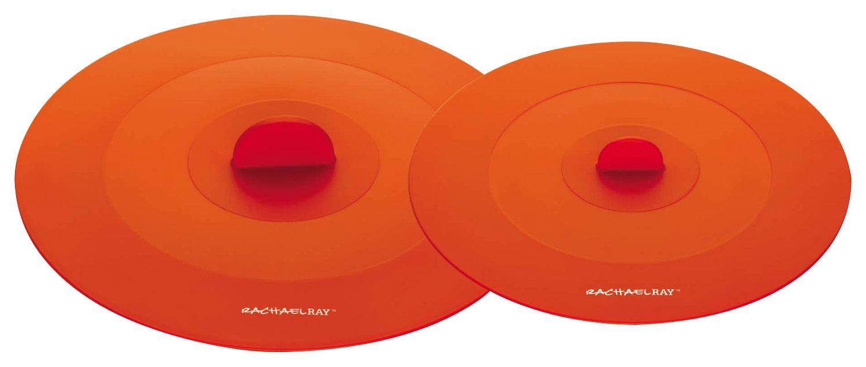 Rachael Ray - Tools & Gadgets Suction Lids (Set of 2) - Orange 9686257