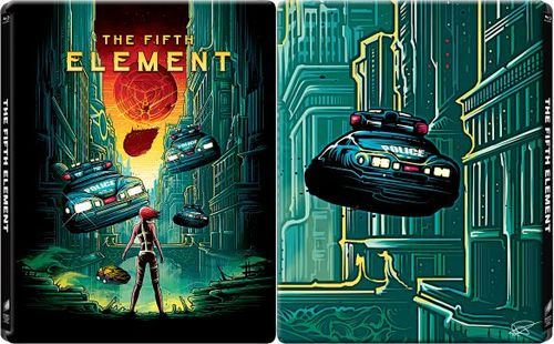 The Fifth Element [Blu-ray] [SteelBook] [Only @ Best Buy] [1997] 9712219