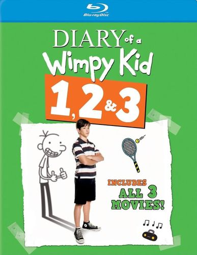 Diary of a Wimpy Kid 1, 2 & 3 [3 Discs] [Blu-ray] 9713098