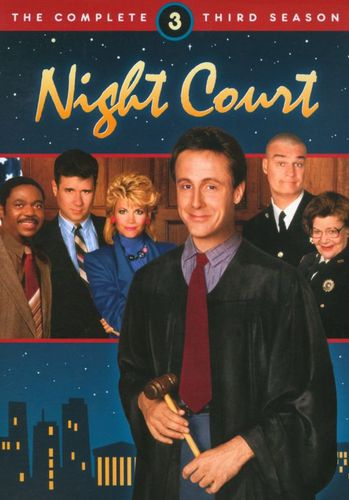 Night Court: The Complete Third Season [3 Discs] [DVD] 9717192