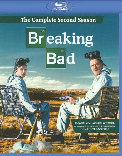 Breaking Bad: The Complete Second Season [3 Discs] [Blu-ray] 9729864