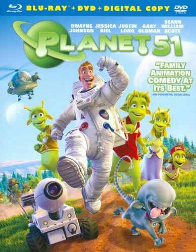 Planet 51 [2 Discs] [Includes Digital Copy] [Blu-ray/DVD] [2009] 9748525
