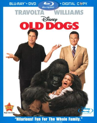 Old Dogs [3 Discs] [Includes Digital Copy] [Blu-ray/DVD] [2009] 9750008