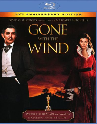 Gone with the Wind [70th Anniversary Edition] [Blu-ray] [1939] 9755895