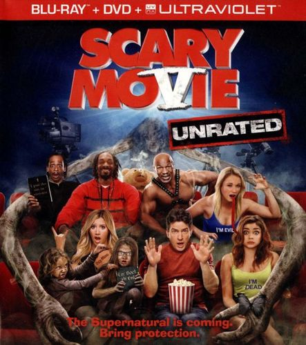 Scary Movie V [Unrated] [2 Discs] [Includes Digital Copy] [UltraViolet] [Blu-ray/DVD] [2013] 9761562