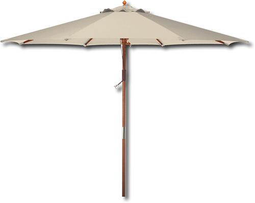 Bond Wooden Market Umbrella Natural Y99151