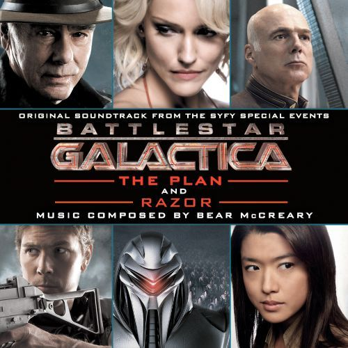 Battlestar Galactica: The Plan / Razor [Original Soundtrack] [CD] 9769519