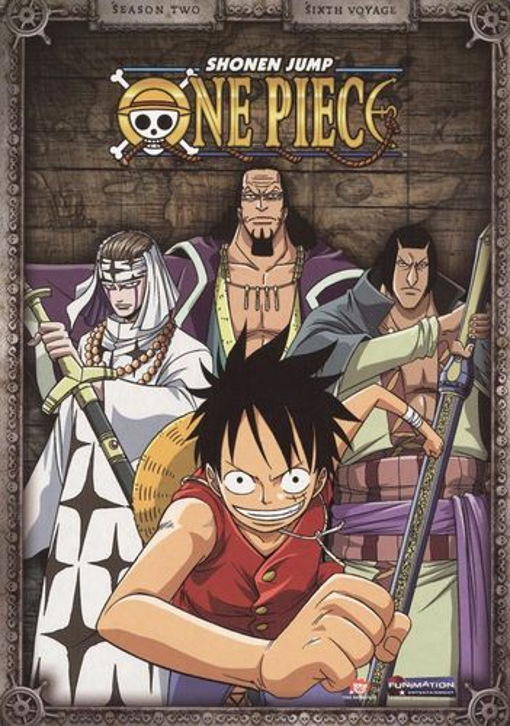 One Piece: Season Two - Sixth Voyage [2 Discs] [DVD] 9778399