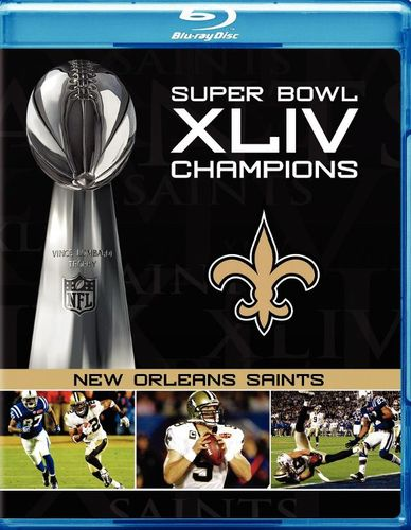 NFL: Super Bowl XLIV Champions - New Orleans Saints [Blu-ray] [2010] 9794038