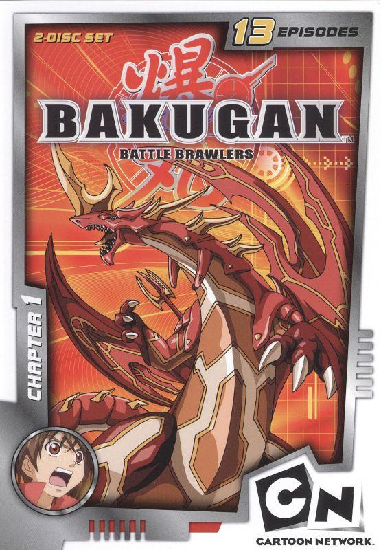 Bakugan Battle Brawlers: Chapter 1 [2 Discs] [DVD] 9794214