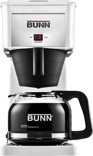BUNN - GRW Velocity Brew Orignal 10-Cup Coffeemaker - White 9809086