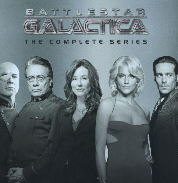 Battlestar Galactica: The Complete Series [26 Discs] [DVD] 9830914