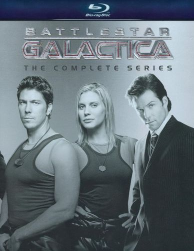 Battlestar Galactica: The Complete Series [26 Discs] [Blu-ray] 9830987