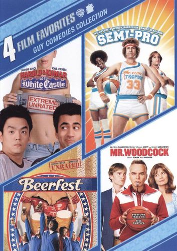 Guy Comedies Collection: 4 Film Favorites [2 Discs] [DVD] 9838916