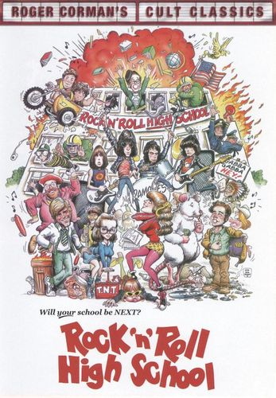 Rock 'n' Roll High School [DVD] [1979] 9842044