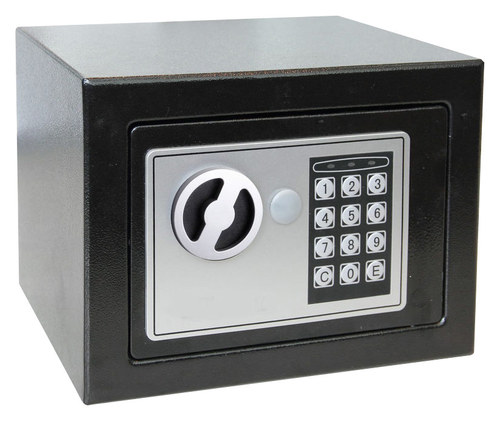 Royal Sovereign - 0.15 Cu. Ft. Digital Safe - Black/Silver