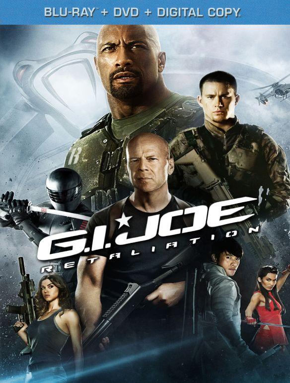 G.I. Joe: Retaliation [2 Discs] [Includes Digital Copy] [UltraViolet] [Blu-ray/DVD] [2013] 9876345