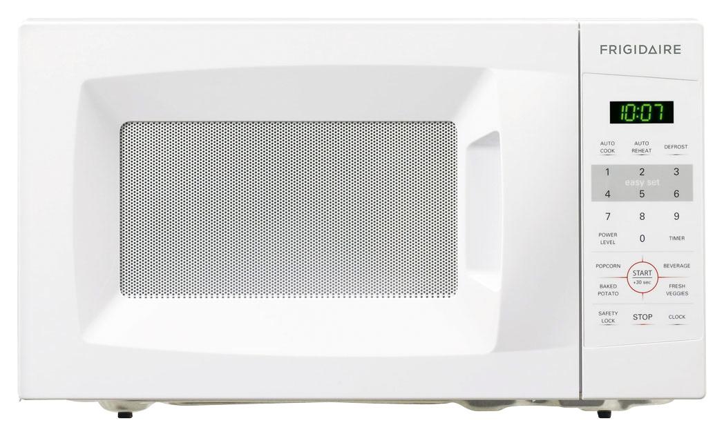 Frigidaire 0.7 Cu. Ft. Compact Microwave White FFCM0724LW